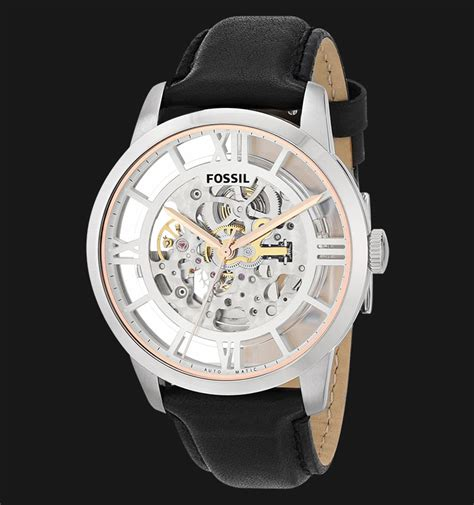 Ready Jam Tangan Fossil Automatic Me3111 Original fossil me3041 townsman automatic black leather