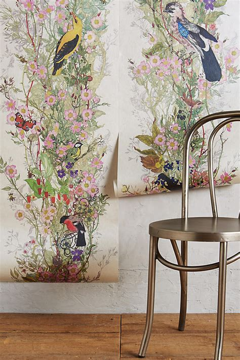 Anthropologie E Gift Card - bird sanctuary wallpaper anthropologie