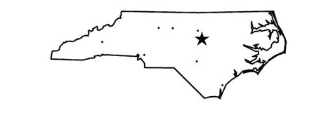 How To Draw The Outline Of Carolina by Printable Map Of Nc Regions Pictures To Pin On Pinsdaddy