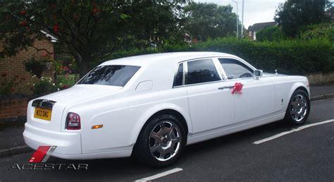 roll royce star rolls royce phantom wedding car white phantom hire hire
