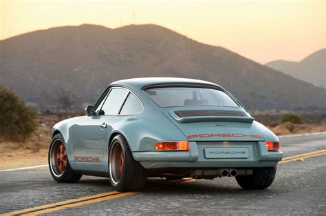 porsche singer blue porsche 911 reimagined by singer vehicle design revisited