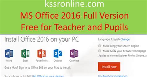 Microsoft Office Di Malaysia kssronline kssr dskp upsr linus microsoft office 2016 percuma untuk guru