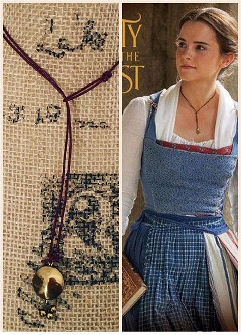 emma watson necklace emma watson s lariat y necklace in beauty and the beast 2017