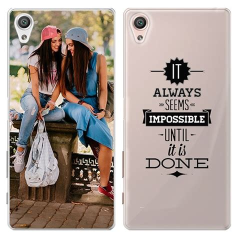 Softcase Silicon Sony Xperia Z5 make your own personalised sony xperia xa