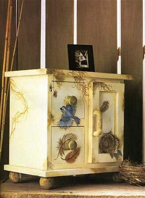 decorative painting on furniture tole painting furniture