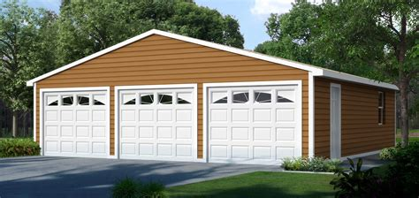 three car garage 3 car garage kits 84 lumber