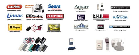 Brands Of Garage Door Openers by Garage Door Remotes Remotes For Garage Doors Garage