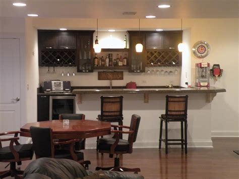 Basement Bar Design Ideas For Modern Minimalist Interiors Bar Ideas For Basement