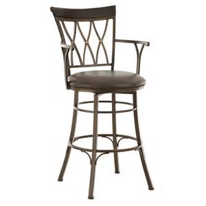 Bar Stools With Armrest Steve Silver Bali 30 In Jumbo Swivel Bar Stool With