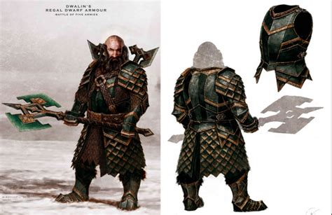Dragons Set 1 Megablock Ori Original dwalin heavy regal armor front back image
