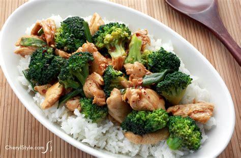 healthy chicken and broccoli stir fry recipe