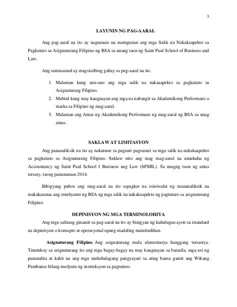 Mga Halimbawa Ng Research Paper Sa 2 by Thesis Sa 2 Halimbawa Write A Term Paper