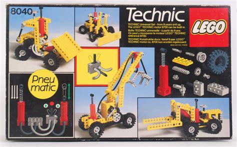 Lego Vintage 4 lego a vintage lego technic set 8040 universal building