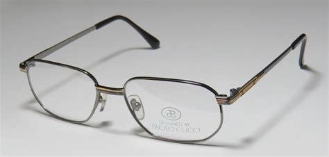 Frame Gucci 8005 Pg new paolo gucci 8110 21k gold plated optical eyeglass frame glasses eyewear mens ebay