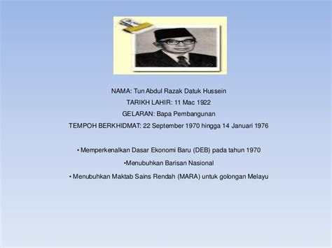 Perdana Three 1903 perdana menteri malaysia
