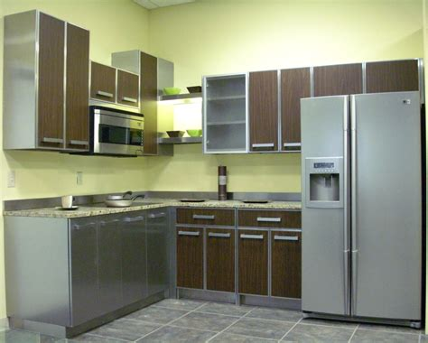 Steel Kitchen Cabinets by Stainless Steel Kitchen Cabinets Steelkitchen