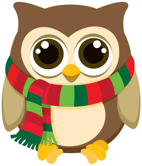 images of christmas owls owl christmas clipart clipartxtras