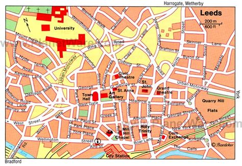 printable map leeds city centre 12 top rated tourist attractions in leeds planetware