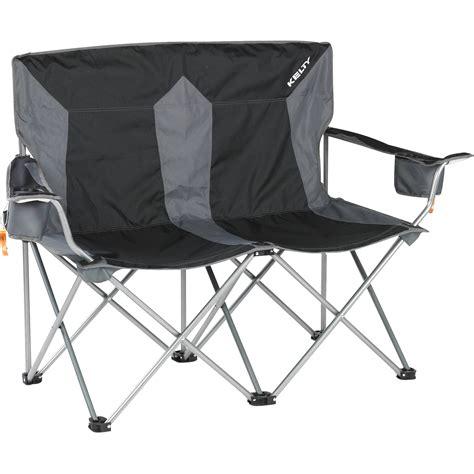 kelty loveseat cing chair kelty folding c loveseat black 61510513bk b h photo video