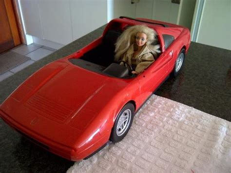 barbie ferrari vintage toys barbie ferrari made in france by mattel in
