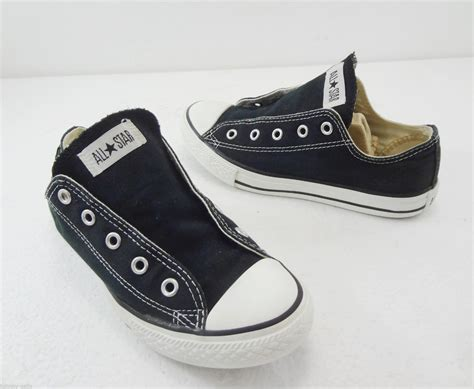 converse sneakers no laces converse all black canvas sneakers shoes