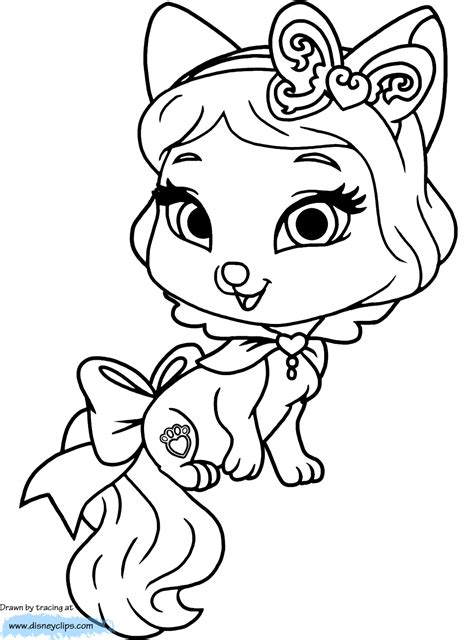 coloring pages pets princess palace pets coloring pages coloring home