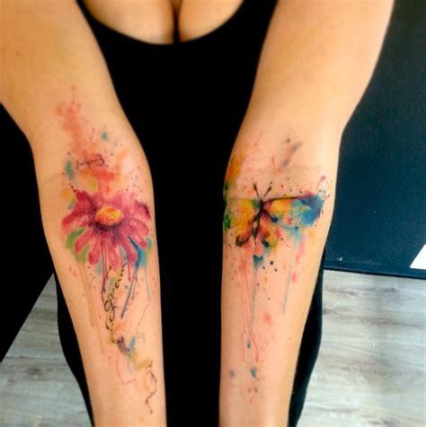 watercolor tattoo emrah emrah de lausbub ink inkobserver watercolors