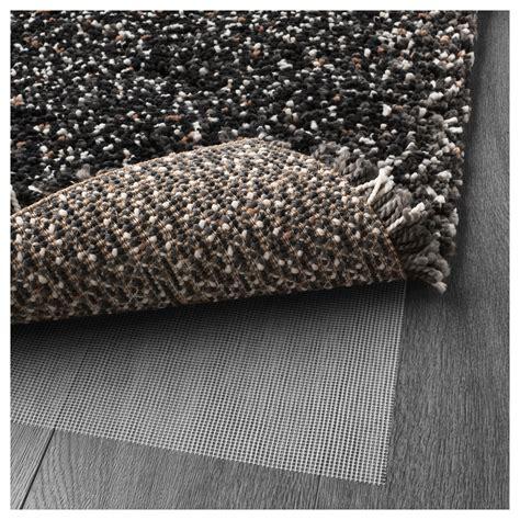 high pile rug vindum rug high pile grey 133x180 cm ikea