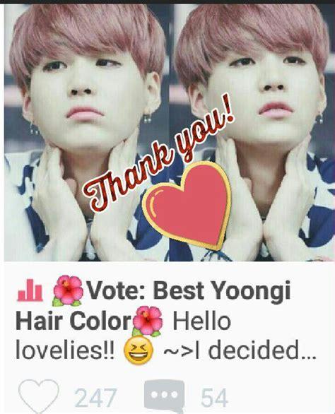 voted best hair dye vote best yoongi hair color army s amino