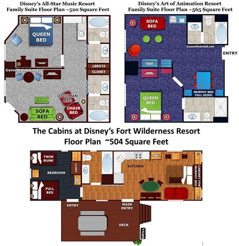 of animation resort family suite floor plan review the family suites at disney s all resort