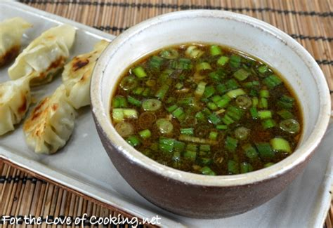potsticker dipping sauce for the love of cooking