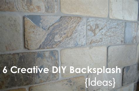 diy bathroom backsplash ideas kimboleeey diy backsplash ideas for your kitchen and