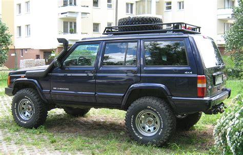 lifted jeep blue jeep cherokee xjugg stovle