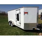 2012 Lark Cargo Trailer W/living Quarters  Trailerocitycom