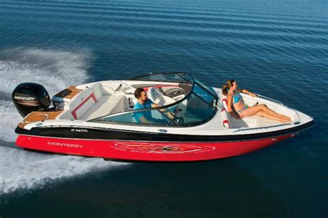 monterey boats manufacturer new monterey ski and fish boats for sale boats