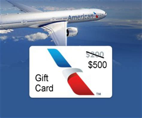American Airlines Gift Card - free 500 in american airlines gift cards point2steve