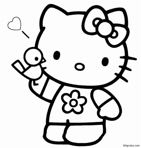 hello kitty drawings coloring pages hello kitty drawing pictures coloring home