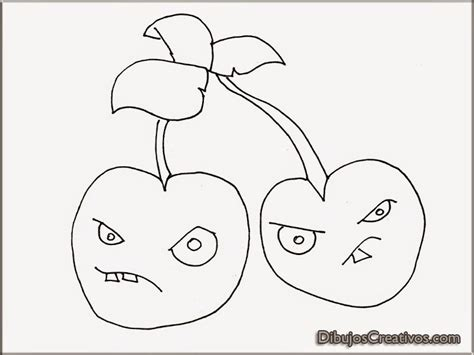 dibujos de plantas vs zombies para colorear e imprimir dibujos para colorear petacereza plantas vs zombies