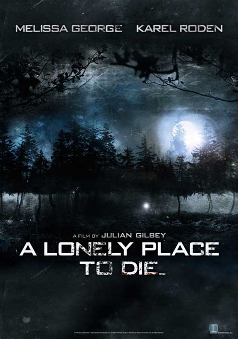 A Place Poster A Lonely Place To Die Posters From Poster Shop