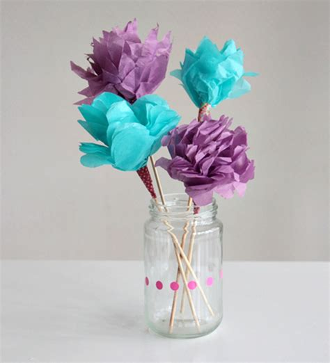 How To Make Bouquet Of Paper Flowers - make a bouquet of beautiful paper flowers for s day