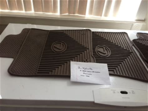 Is300 All Weather Floor Mats by Ar Oem Lexus Is300 All Weather Rubber Floor Mats Club