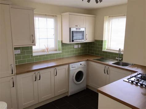 sage and cream shaker style kitchen kitchen decorating housetohome co uk prestige refurbishments 100 feedback restoration