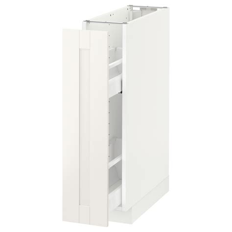 Etagere 40 Cm Largeur by Metod Base Cabinet Pull Out Int Fittings White S 228 Vedal