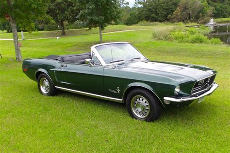 what year did the mustange out your ride fred s gorgeous 68 mustang convertible