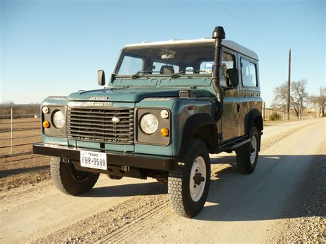 1980 land rover 1986 land rover defender 90 200tdi classic land rover