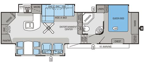 jayco eagle 5th wheel floor plans 2014 eagle fifth wheels floorplans prices jayco inc