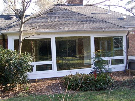 Enclosed Sun Porch Pic Of Screened Porch To Enclosed Room Studio Design