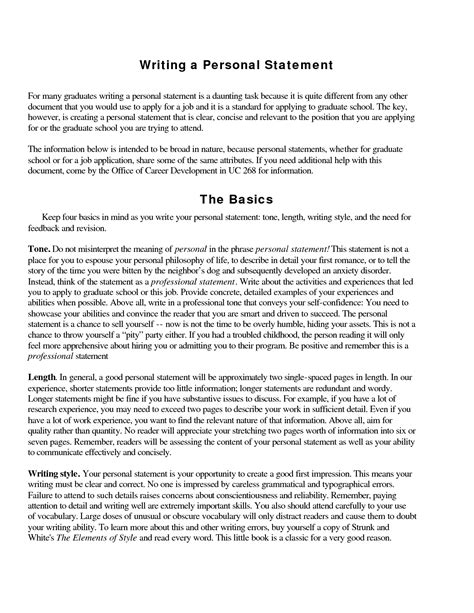 college personal statement essay examples cheap personal essay