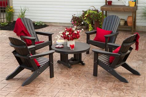 berlin patio furniture berlin gardens american made adirondack chair set from dutchcrafters