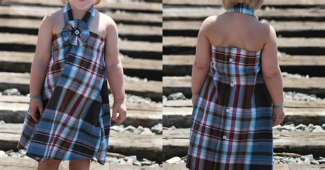 tutorial yiistrap jensen crafts mens shirt into toddler dress